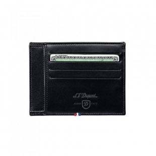 Line D ID Paper Holder Black 4 KK S.T. DUPONT - 1