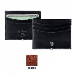 Line D Credit Card Holder brown S.T. DUPONT - 1