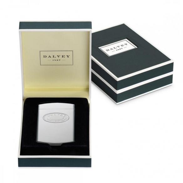 Classic Business Card Case Steel DALVEY - 3