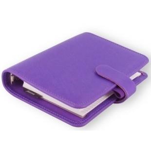 Saffiano Organiser Pocket Purple FILOFAX - 1