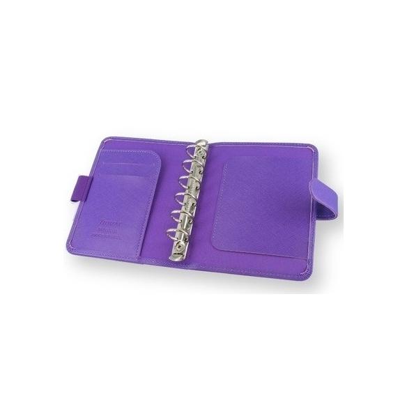 Saffiano Organiser Pocket Purple FILOFAX - 2