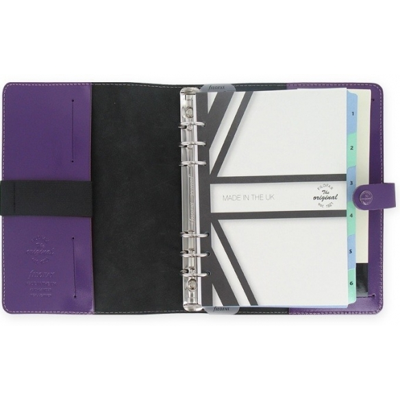 Original Organizer A5 purple FILOFAX - 3