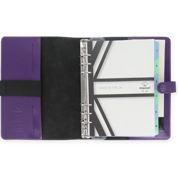The original Organizer A5 purple FILOFAX - 2